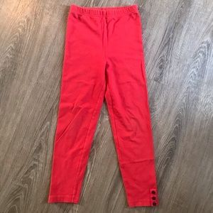 ***3 for $10*** Red leggings size 6X